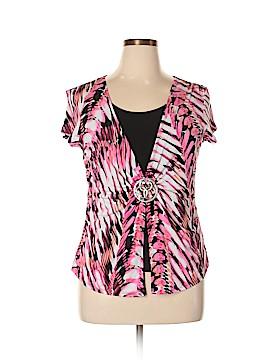 Elementz Short Sleeve Blouse Size XL (Petite)