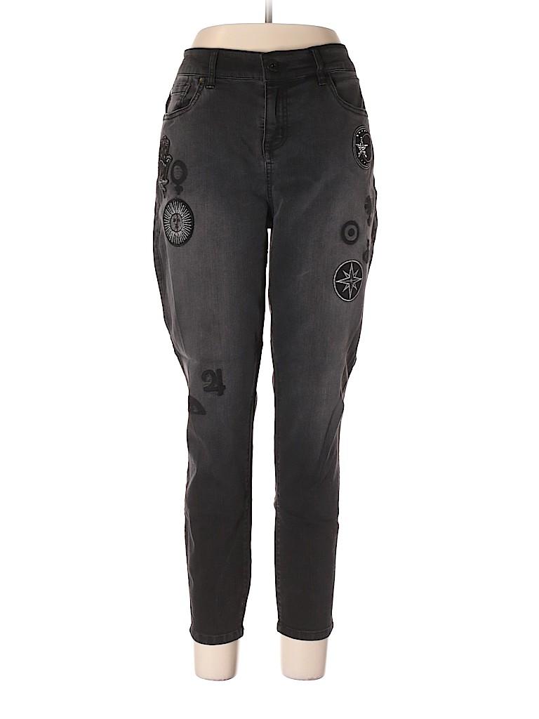 eed25e40adf Torrid Solid Black Jeans Size 16S Plus (Plus) - 73% off