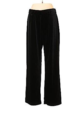 NY Collection Velour Pants Size 1X (Plus)