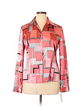 Rafael Long Sleeve Button-Down Shirt Size 16
