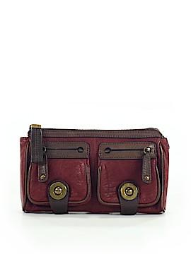Rafe New York Leather Clutch One Size