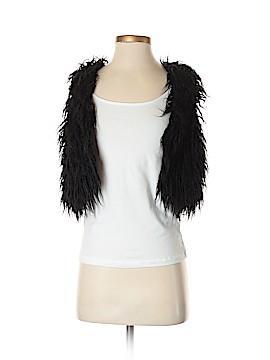 Kensie Faux Fur Vest Size XS