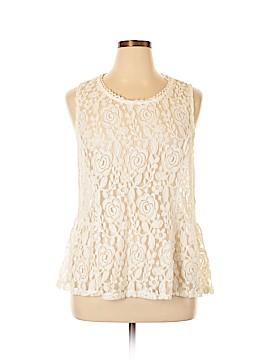 LC Lauren Conrad Sleeveless Blouse Size XXL