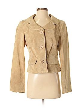 Ann Taylor LOFT Leather Jacket Size 4