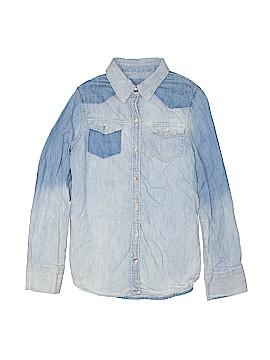 Mudd Long Sleeve Button-Down Shirt Size 12