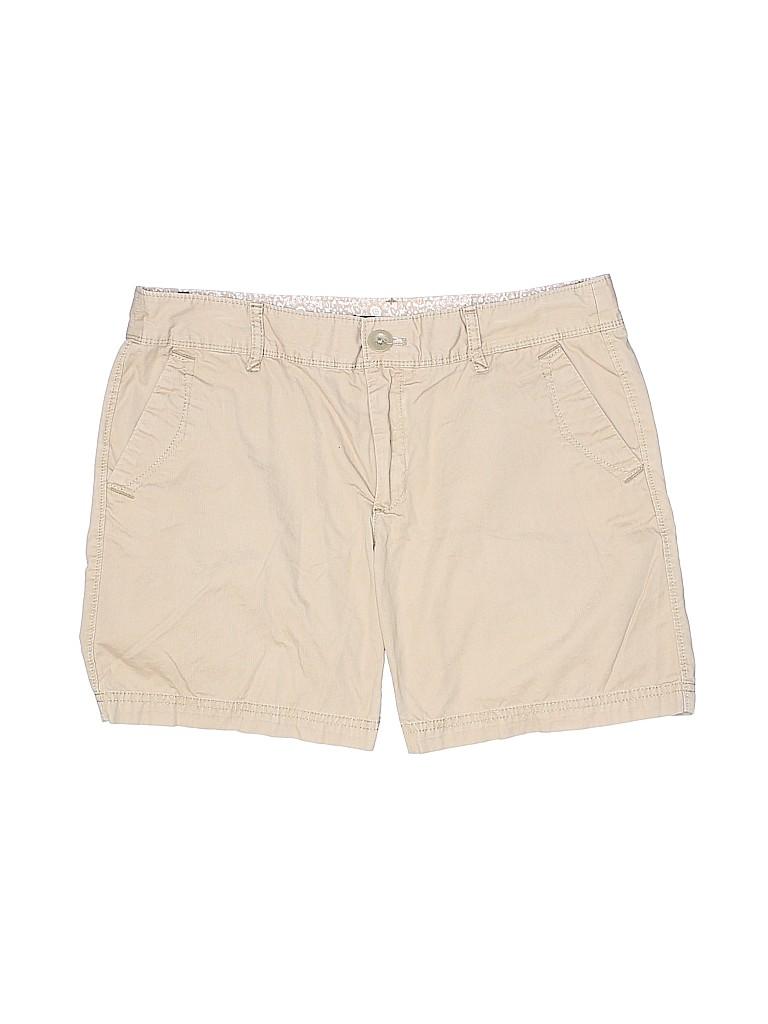 Eddie Bauer Women Khaki Shorts Size 6