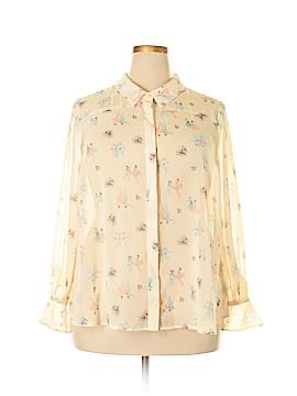 ModCloth Long Sleeve Blouse Size 2X (Plus)