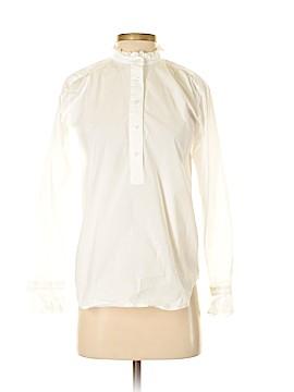 Ann Taylor Long Sleeve Button-Down Shirt Size XS
