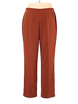 Susan Graver Casual Pants Size 1X (Plus)