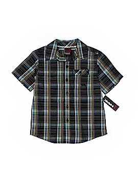 Hawk Short Sleeve Button-Down Shirt Size 4