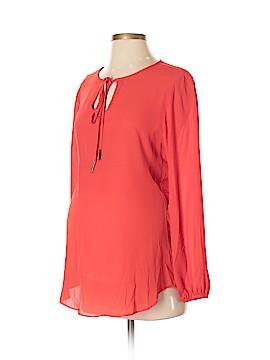 Olian Long Sleeve Blouse Size S (Maternity)
