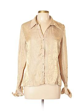 Ronni Nicole Long Sleeve Blouse Size L