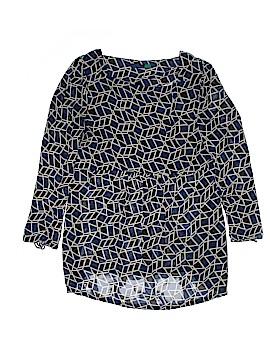 AVA Long Sleeve Button-Down Shirt Size L