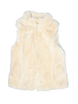 Zara Kids Faux Fur Vest Size 9 - 10
