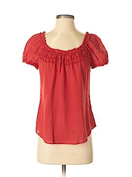 Trina Turk Short Sleeve Blouse Size S