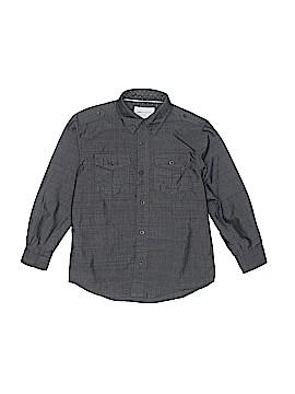 Paper Denim & Cloth Long Sleeve Button-Down Shirt Size 6