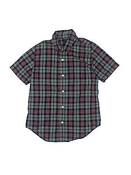 Gap Kids Short Sleeve Button-Down Shirt Size L (Kids)