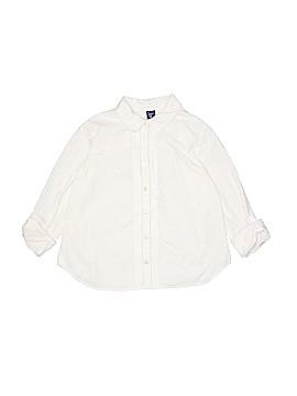Gap Kids Long Sleeve Button-Down Shirt Size 10 (Plus)