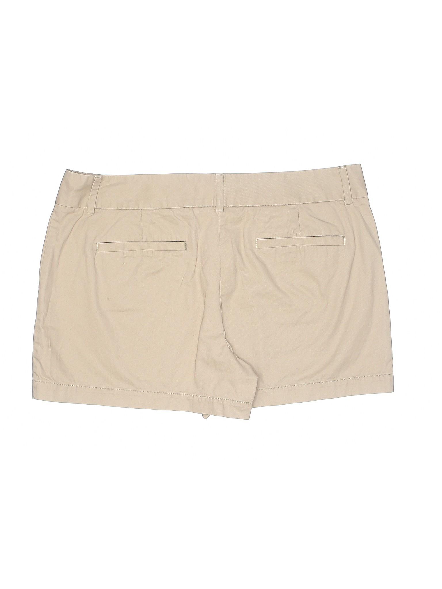 Boutique Shorts Khaki Taylor Ann LOFT rgHrq4P