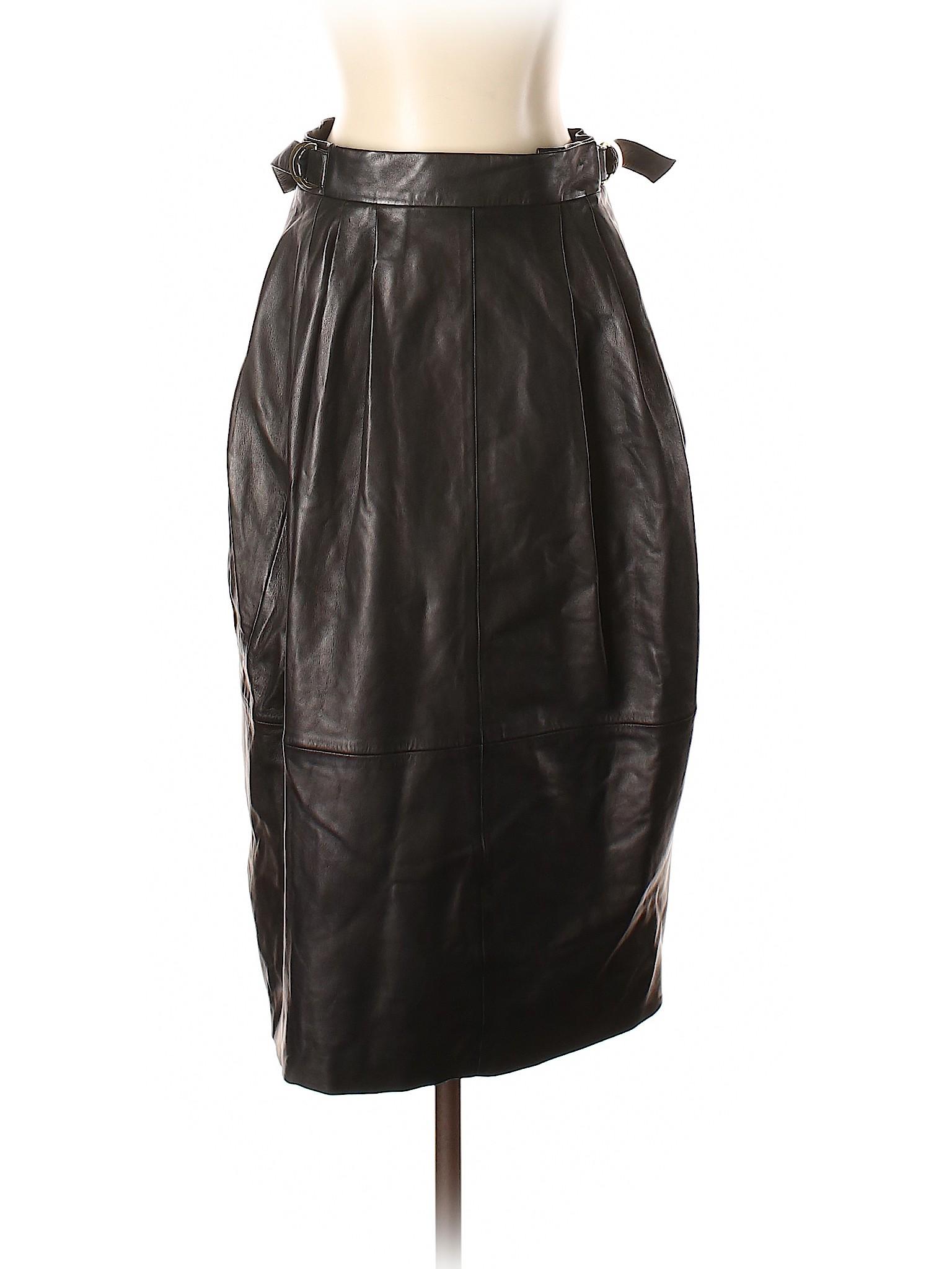 leisure Skirt Lam Derek Boutique Leather ZwqAIdxP