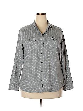 Croft & Barrow Long Sleeve Button-Down Shirt Size XXL