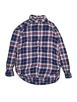 H&M Long Sleeve Button-Down Shirt Size 10 - 11