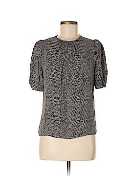 Michael Kors Short Sleeve Silk Top Size 6