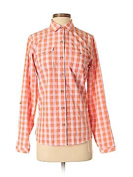 Eddie Bauer Long Sleeve Button-Down Shirt Size S