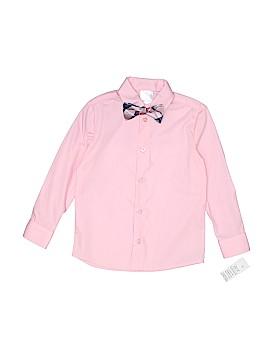 FT Apparel Long Sleeve Button-Down Shirt Size 5