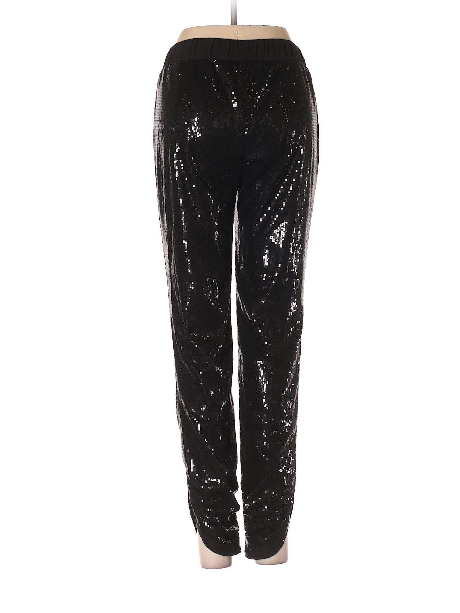 House Market Pants Black White Casual Boutique leisure EwqPIY4