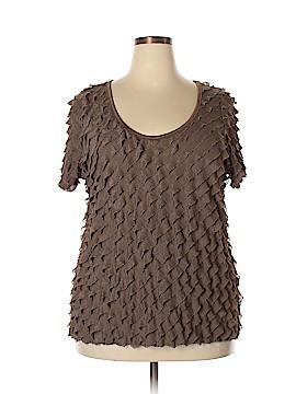 Judith Short Sleeve Top Size 3X (Plus)