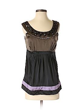 Kensie Sleeveless Silk Top Size S
