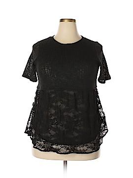 Lauren Conrad Short Sleeve Top Size L