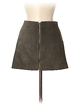 BB Dakota Leather Skirt Size 8