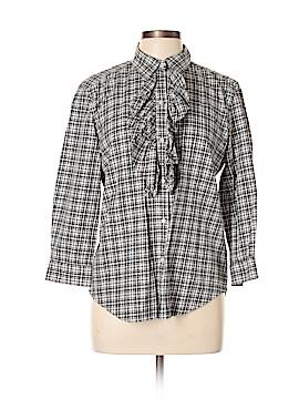 American Living Long Sleeve Button-Down Shirt Size L