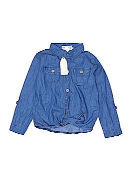 Samgami Baby Long Sleeve Button-Down Shirt Size 120 (CM)