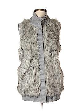 MICHAEL Michael Kors Faux Fur Vest Size L