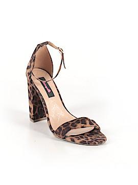 Betseyville By Betsey Johnson Heels Size 8 1/2