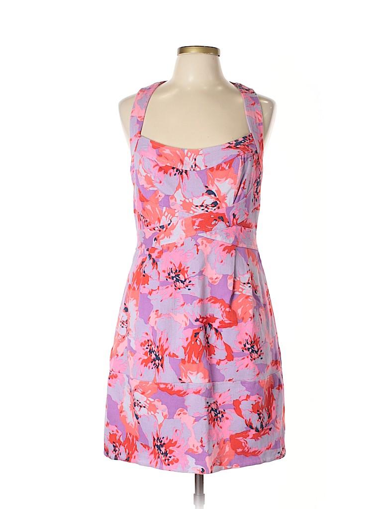 6c2772e1a554 Nanette Lepore Floral Light Purple Casual Dress Size 12 - 83% off ...