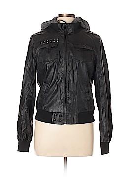 Glamour Kills Faux Leather Jacket Size L