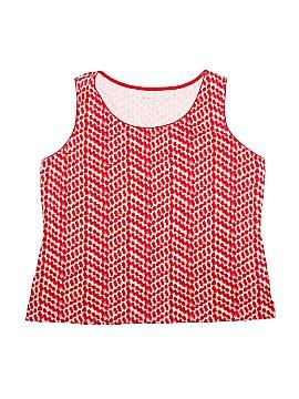 Kim Rogers Sleeveless T-Shirt Size 2X (Plus)