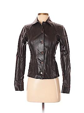 Paris Blues Faux Leather Jacket Size XS