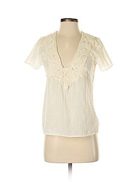 Corey Lynn Calter Short Sleeve Blouse Size 4