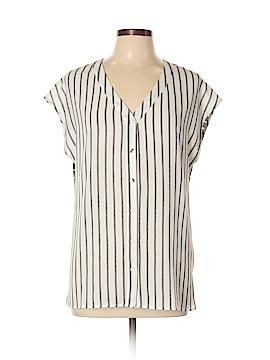 Meadow Rue Short Sleeve Blouse Size M
