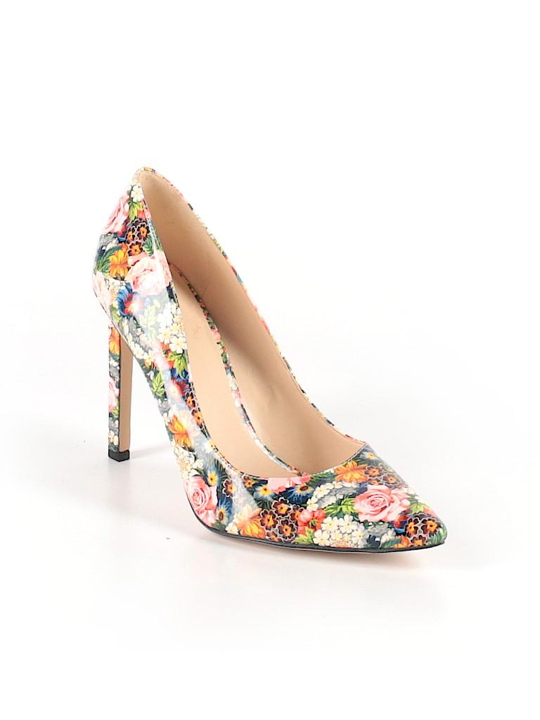 1e185ed85c8930 Nine West Floral Pink Heels Size 10 - 62% off