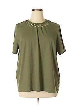 Blair Boutique Short Sleeve Top Size 2X (Plus)