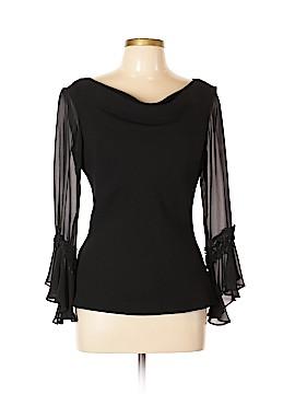 Sandra Darren Long Sleeve Blouse Size 10