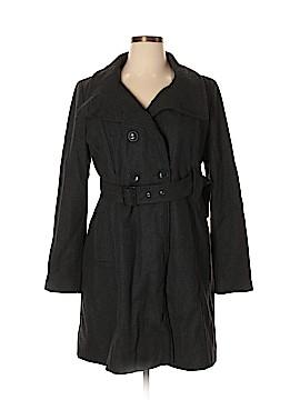 Elevenses Wool Coat Size XL