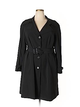 Alfani Trenchcoat Size 2X (Plus)