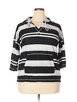 Jones New York Sport Pullover Hoodie Size 1X (Plus)